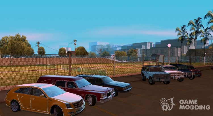 Wagons and Jeeps Pack for GTA San Andreas
