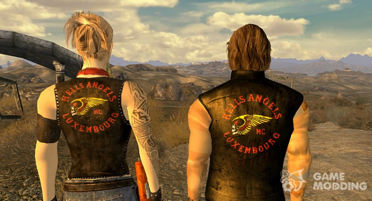 Hell's Angels Battlegear for Fallout New Vegas