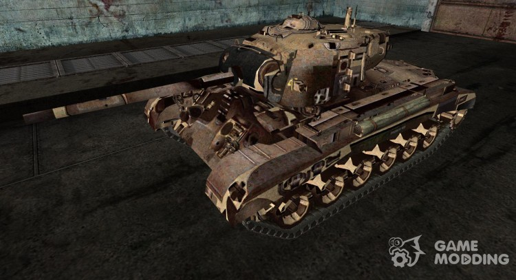 Pershing from Kubana for World Of Tanks