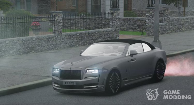 2016 Rolls-Royce Dawn Onyx Concept for GTA 4