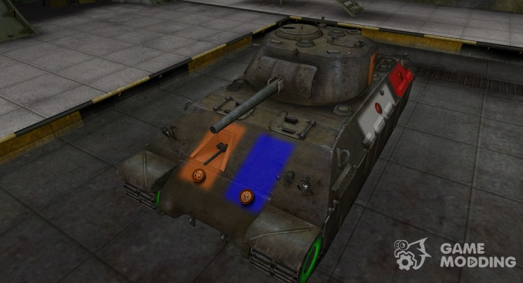 High-quality skin for T14 for World Of Tanks