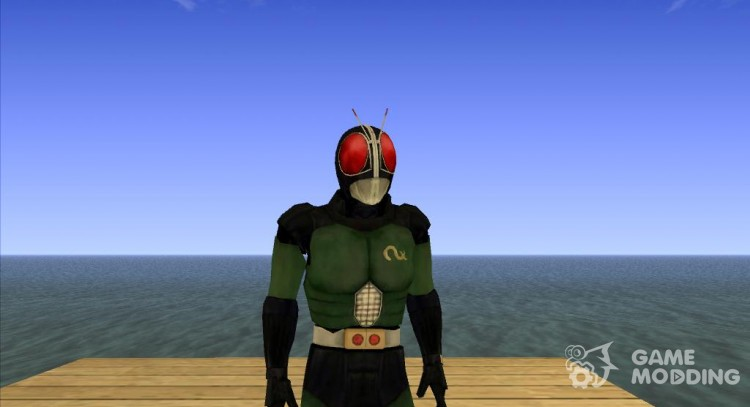 Kamen Rider Black RX for GTA San Andreas