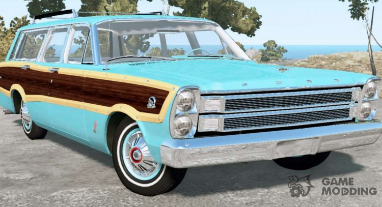 Ford Country Squire 1966 for BeamNG.Drive