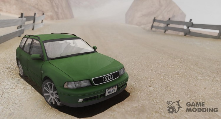 audi b5 a4 avant 2.5 tdi us-spec for gta san andreas