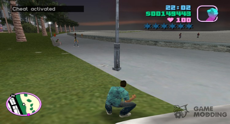 Cheat code for money for GTA Vice City