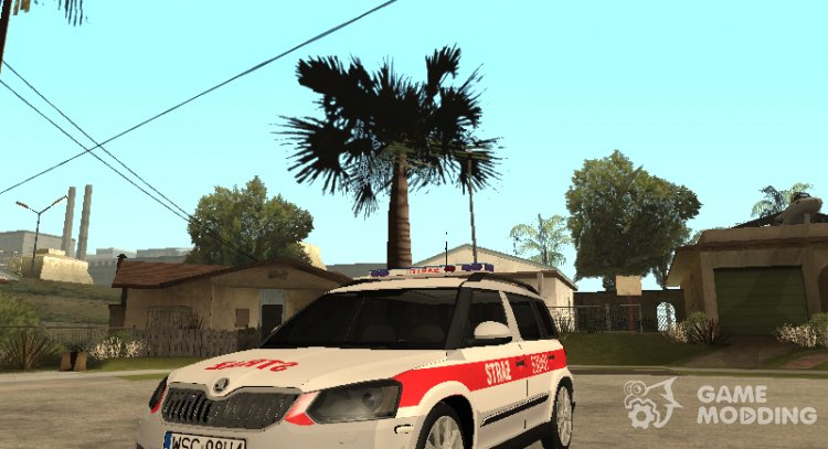Skoda Yeti State fire service for GTA San Andreas