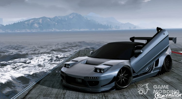 Honda NSX Rocket Bunny for GTA 5