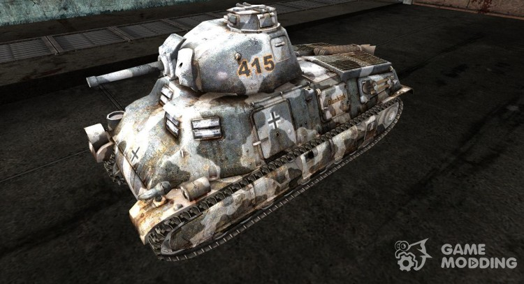 Skin for S35 for World Of Tanks