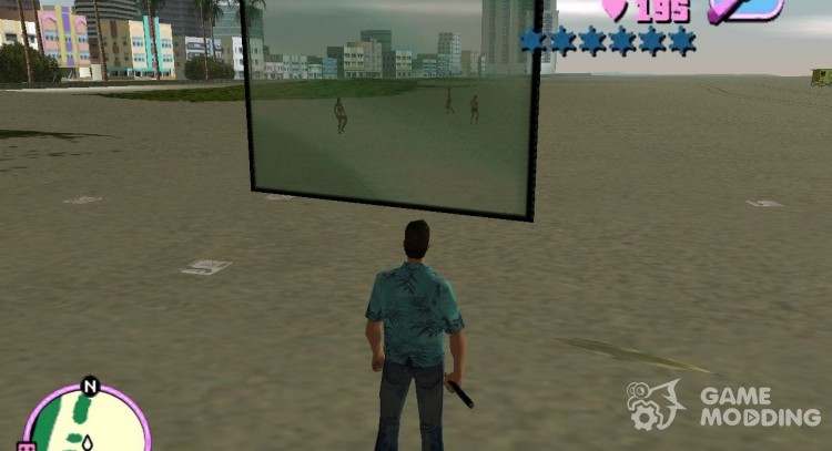 Ingame Mapper for GTA Vice City