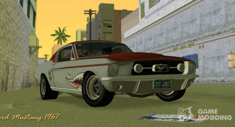 Ford Mustang 1967 for GTA Vice City