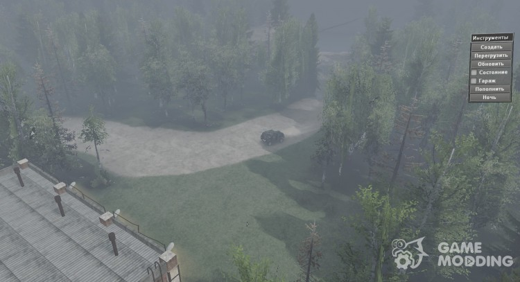 Map Of GZA for Spintires 2014