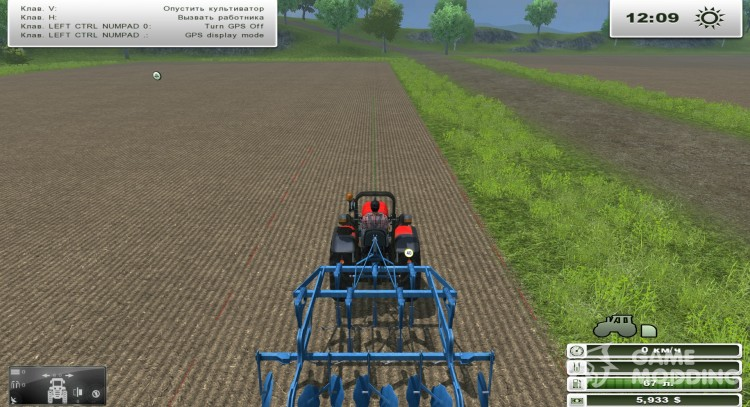 GPS Mod v3.2 [MP] for Farming Simulator 2013