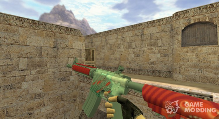 M4A1 a Rain of bullets for Counter Strike 1.6