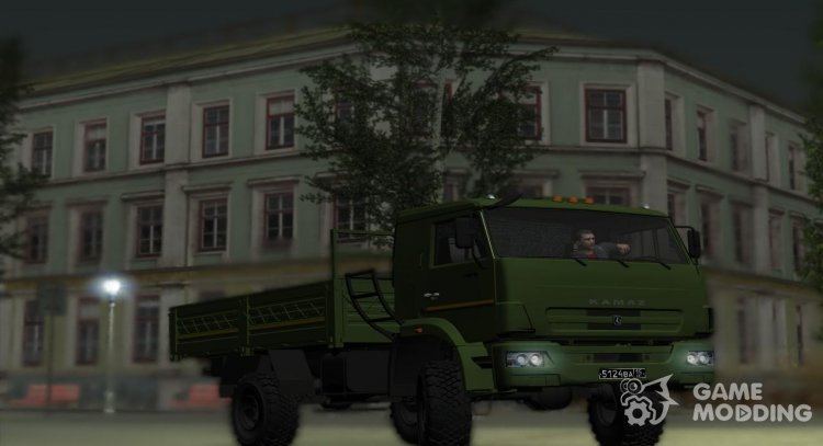 KamAZ 43502 Army for GTA San Andreas
