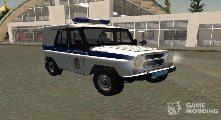 UAZ Hunter PPSP (Restyled II) V0. 1 for GTA San Andreas