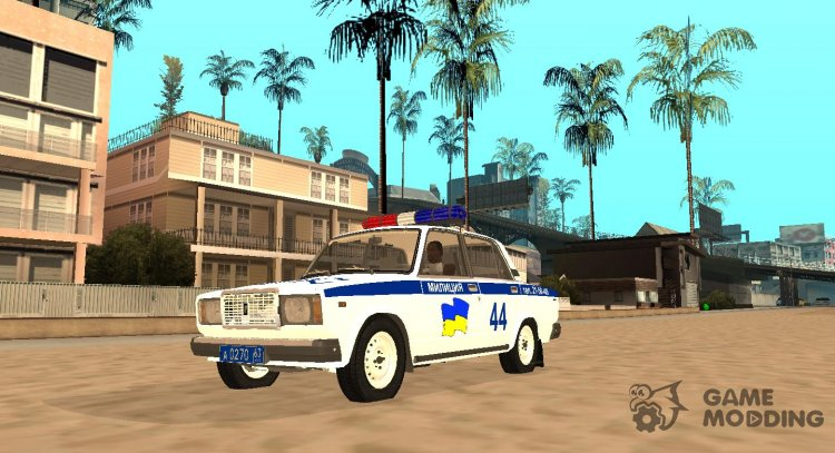 VAZ 2107 TRAFFIC POLICE for GTA San Andreas