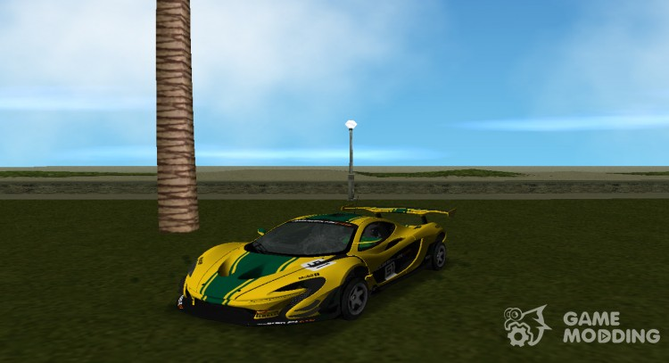 McLaren GTR 2015 P1 for GTA Vice City