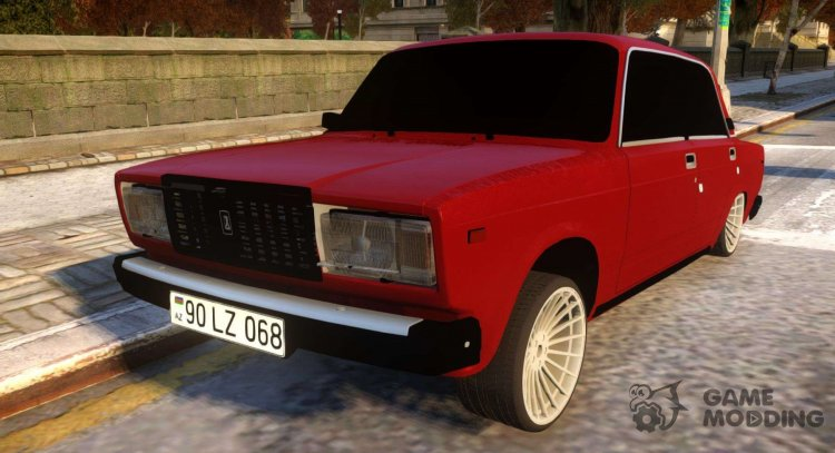 VAZ 2107 Azerbaijan Forever for GTA 4