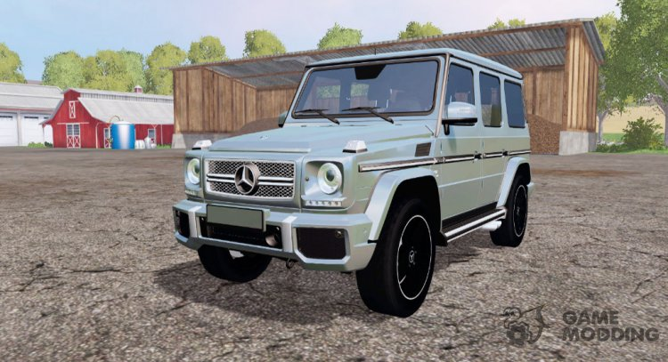 Mercedes-Benz G65 AMG (W463) for Farming Simulator 2015