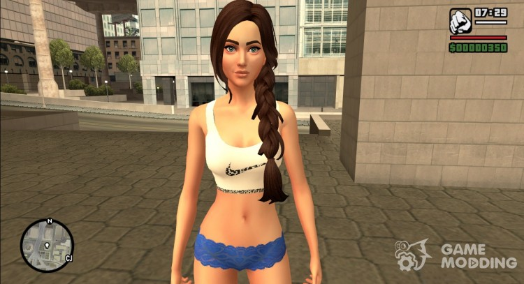 Girl from The Sims 4 for GTA San Andreas