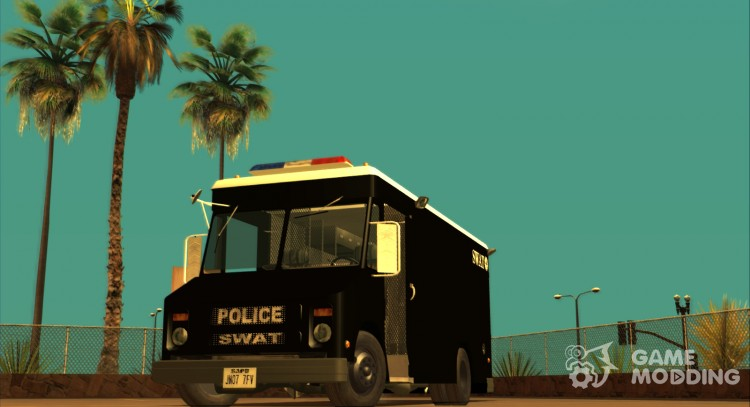 Chevrolet Step Van S. W. A. T. for GTA San Andreas
