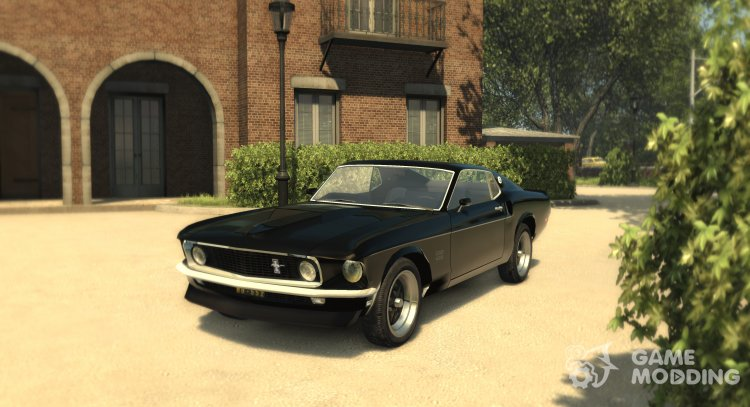 Ford Mustang Boss 429 for Mafia II