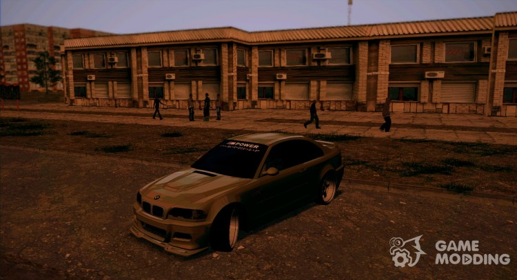 BMW E46 M3 Sport for GTA San Andreas