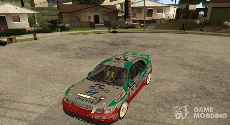 Hyundai Accent WRC for GTA San Andreas