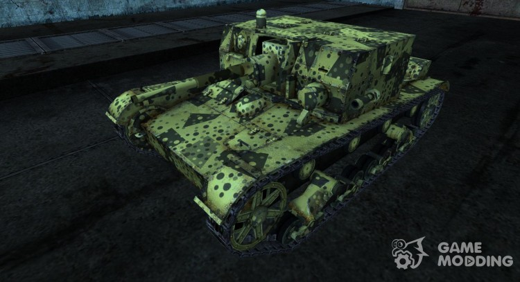 Skin for AT-1 for World Of Tanks