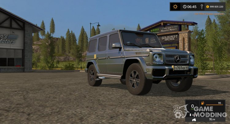 Mercedes-Benz G65 AMG for Farming Simulator 2017