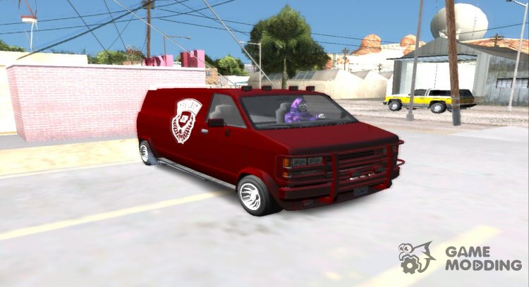 GTA V Declasse Gang Burrito of the Lost MC for GTA San Andreas