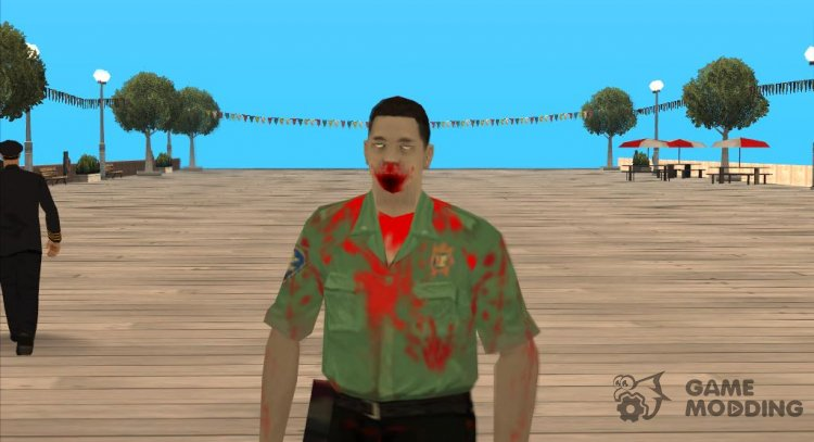 Zombie sfemt1 for GTA San Andreas