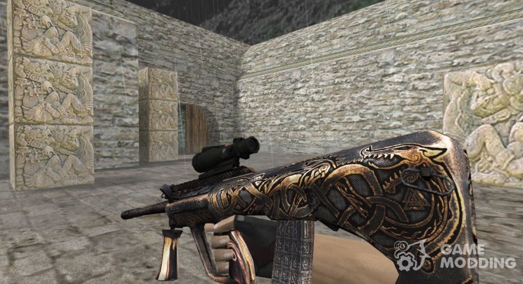 AUG Onix Copper Age for Counter Strike 1.6