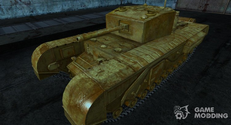 Churchill for World Of Tanks