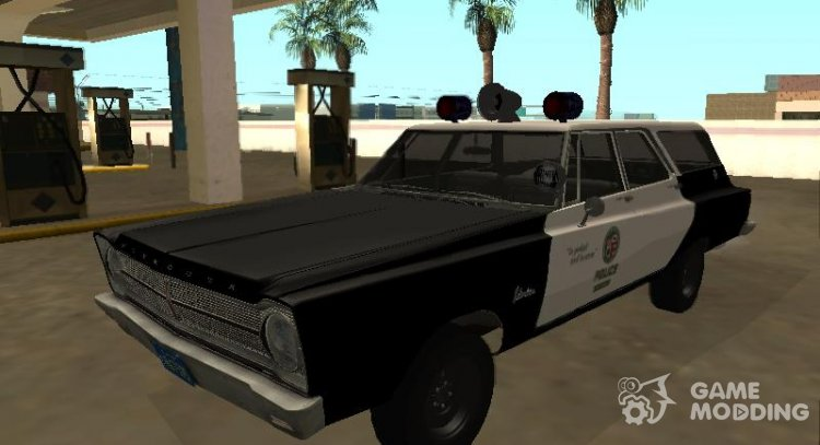 Plymouth Belvedere SW 1965 LAPD for GTA San Andreas