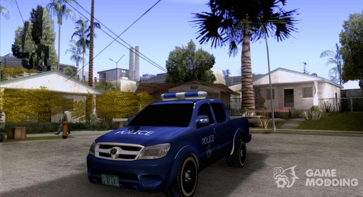 Toyota Hilux Somaliland Police для GTA San Andreas