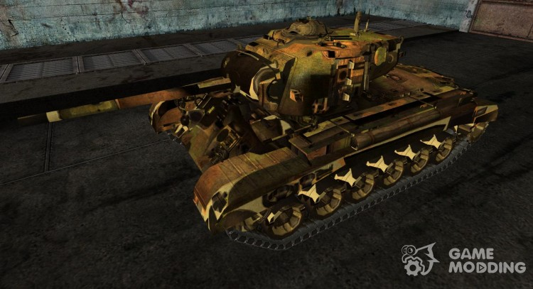 The M26 Pershing Peolink for World Of Tanks