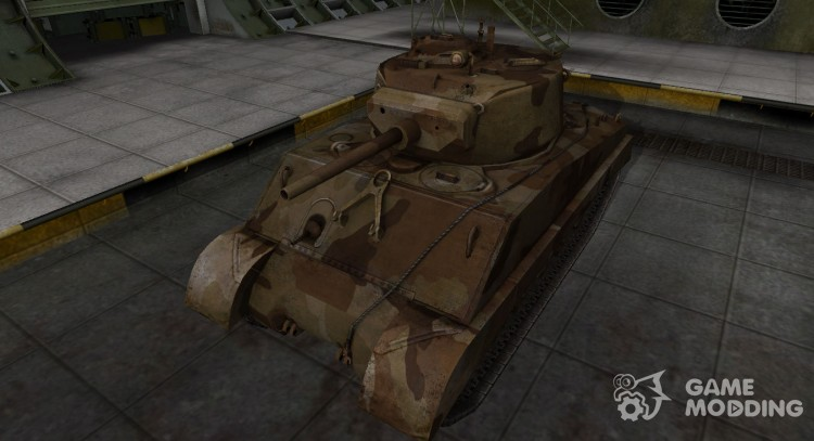 M4A3E2 Sherman Jumbo American tank for World Of Tanks