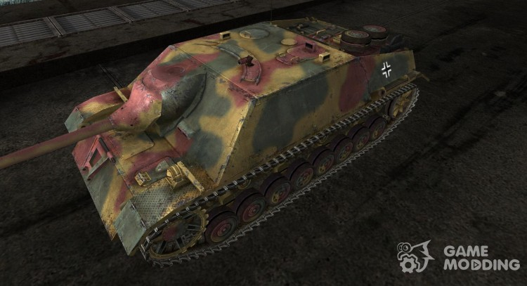 JagdPzIV 2 для World Of Tanks