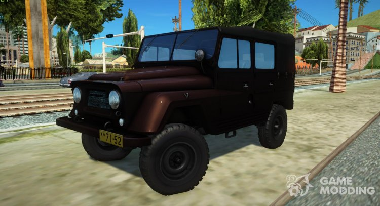 UAZ-460Б for GTA San Andreas
