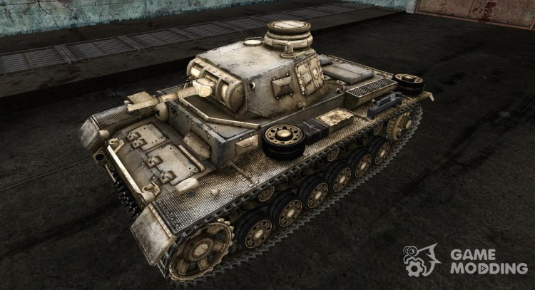 Panzer III No0481 for World Of Tanks