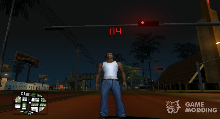 Traffic Lights Countdown for GTA San Andreas