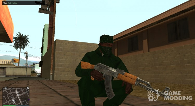 GTA IV Weapons Pack for GTA San Andreas