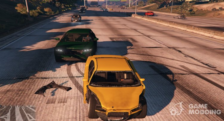 Realistic damage 1.0 for GTA 5