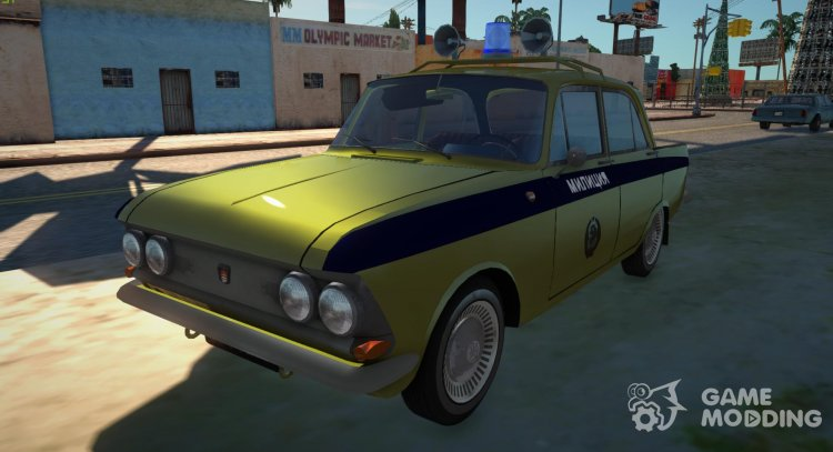 Moskvich-408 Police for GTA San Andreas
