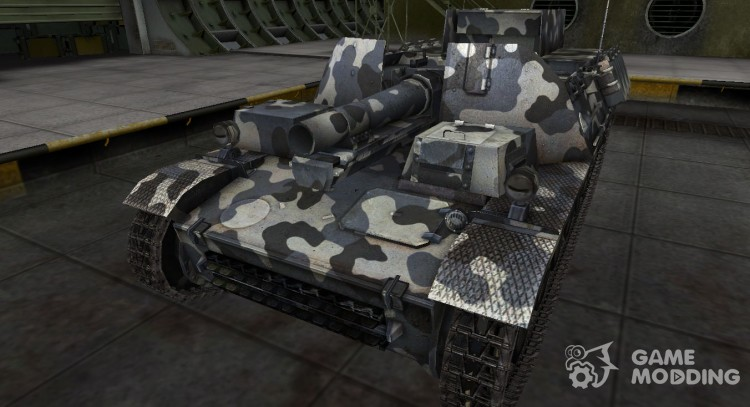 German Sturmpanzer II tank for World Of Tanks