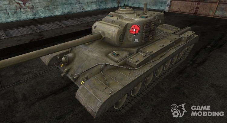 Skin for T32 for World Of Tanks