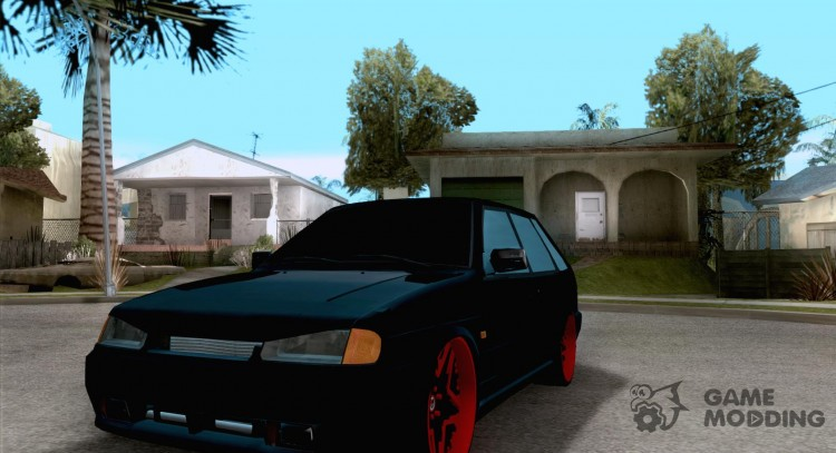 Ваз 2114 Devil Style for GTA San Andreas