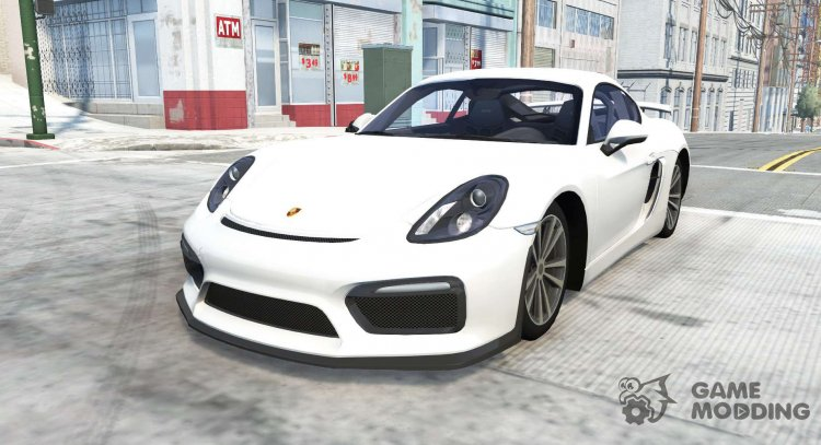 Porsche Cayman GT4 (981C) 2015 for BeamNG.Drive
