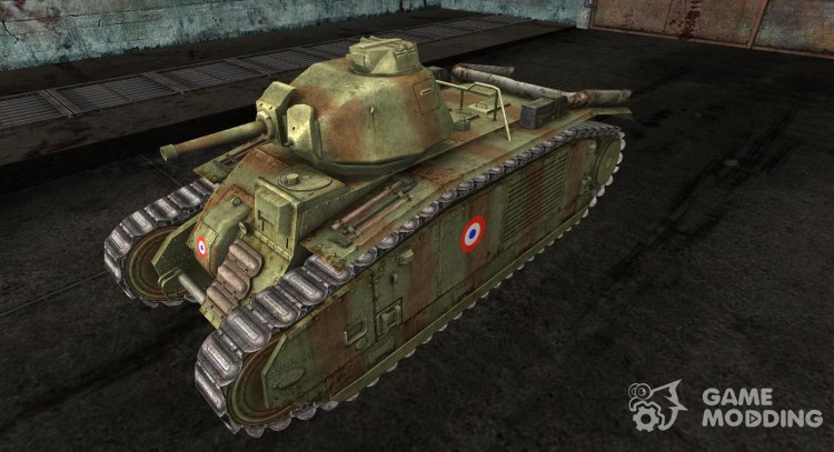 Skin for Panzer B2 740 (f) for World Of Tanks